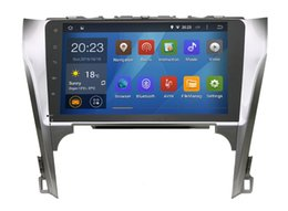 Wholesale Super inch Quad core Car GPS for Toyota Camry with Pure android GPS WIFI G auto radio No Disc