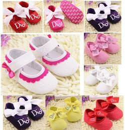 Wholesale baby girl shoes fashion sweet baby princess shoes top quality brand baby shoes dandys