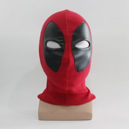 Wholesale-Deadpool Masks Halloween Cosplay Costume Full Face Mask