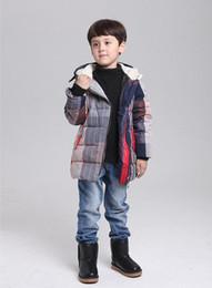 New Kidsthick Warm Coats 2015 Brand Children Clothing Boy Long Winter Jacket Outwear Fashion Down Coat Jackets