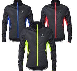 Cycling Riding Jerseys Jackets WOLFBIKE MenThermal Fleece Winter warm Soft Shell Coat outdoor sports Bike ski hiking Windproof clothing