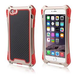 Water Dirt Shock Proof Aluminum Metal Case Cover Gorilla Glass for iPhone 6 Waterproof Shockproof New