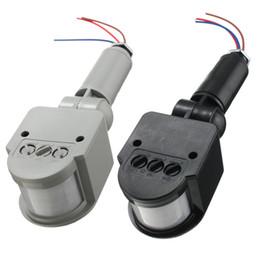 Wholesale Best Promotion Outdoor Motion Sensor Wall Light Lamp LED PIR Infrared Motion RF180 Degree Switch Sensor Detector AC85V V
