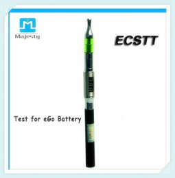 Wholesale 2015 Hot ECSTT Clectronic Cigarette Test Battery Voltage Atomizer Resistance Tester Megger Made in China