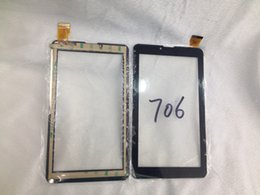 High quality 7 Inch Brand Touch Screen Display Glass Digitizer Digitiser Panel Replacement For 706