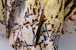 Wholesale summer new European style fashion printed kimono style loose suit thin coat blouse sun protection clothing