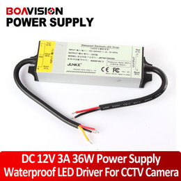 Wholesale 12V LED Driver IP67 A W DC Power Supply Support Outdoor For CCTV Camera