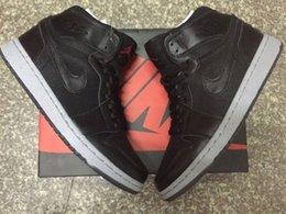 Wholesale 2016 New Nike Men dan Retro Basketball Shoes Jordan I Men Basketball Shoes AJ1 New York City Authentic Brands Sneakers Shoes