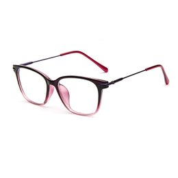 Wholesale 9376 women eyeglasses myopia optical computer glasses frame oculos de grau eye glasses eye glasses frames for women