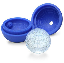 Wholesale durable star type mold silicone Ice tray cube ice cream round ball spherical mould for bar party freezer
