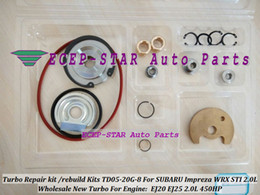 Turbo Repair Kit rebuild kit Kits of TD05-20G TD05 20G 8 TD05-20G-8 Turbocharger For SUBARU Impreza WRX STI EJ20 EJ25 2.0L MAX HP 450HP