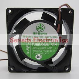 Bi-Sonic 9P-230HB 9cm 9225 220V 16 14W industrial axial case cooling fan