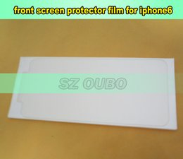 Front screen protector refurbish film for refurbishment renew lcd for iphone 6G 6 4.7 inch 500pcs lot DHL free shipping