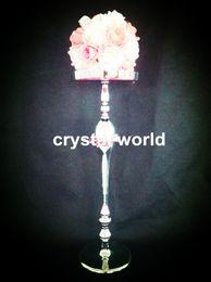 wedding flower stand centerpieces , crystal wedding table centerpiece 345