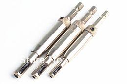 Wholesale 3 High Speed Steel HSS wood Drill Bit Set Self Centering Hinge Door Cabinet opening open tool size order lt no track