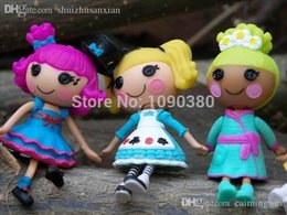 Wholesale Or CM Tall MGA MINI Lalaloopsy Dolls Best Christmas Day Gifts For Girls Super Cute Button Eyes Lalaloopsy Toys