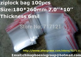 Wholesale Holiday Sale X CM Zip Lock Bags Clear MIL Poly Bag Reclosable Plastic Small Baggies With Low Price