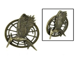 Wholesale The second edition of the card to take the Hunger Games Hunger Games mockingjay ancient bronze Brooch Xinghuoliaoyuan