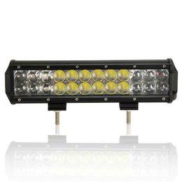 12 inch 120W Offroad Osram LED Light Bar 12V 24X5W 4D Spot Flood Combo Lamp ATV 4X4 SUV Truck Boat Jeep Driving Work Light