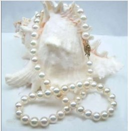 Wholesale 18 GENUINE mm White South Sea Round Pearl Necklace k