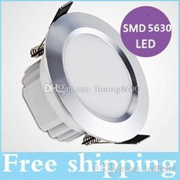 New Arrival Silver 12W Led Downlight 160 Angle 900lm AC 110-240V Dimmable Led Recessed Downlights Lamp Warm White 3000K White 6000K