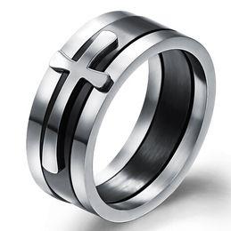 The cross ring Creative personality Detachable GJ450 single Fashion trends Men's ring