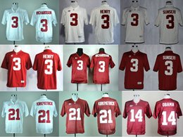 Wholesale Factory Outlet Alabama Crimson Tide Jerseys College Football Barack Obama Vinnie Sunseri Derrick Henry Trent Richardson Kirkpat