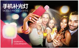 Wholesale Best price Built in led lights for LED FLASH for Camera Phone support for multiple Photography mini selfie sync led flash