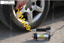 Wholesale High power Portable Super Flow V Car Electric Pump ball Air Compressor min Fast filling Low noise Automobile Electric Tire Inflator