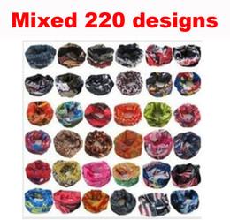 Wholesale Drop Shipping stylish seamless magic ride magic anti UV bandana headband scarf hip hop multifunctional bandana Outdoor Head scarf