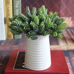 HOT 6 colors mix better artificial cute usnea decorative flower romantic 5 heads for wedding party hotel home decoration