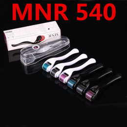 MNR 540 Micro Needles Derma Rolling System Micro Needle Skin Roller Dermatology Therapy System Health Beauty Equipment Free Shipping
