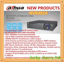 Salut-Def vidéo recodage Sécurité Facile Dahua Marque 16CH HDMI 1080p NVR4816 avec 16ch alarme en 8HDD pris en charge à partir de sécurité facile fabricateur