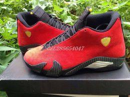 Wholesale Mens Basketball Shoes Retro Ferrari Man Sports Shoes Men Athletics Cheap Shoes Men Boot Outdoors Mens Size Sneakers