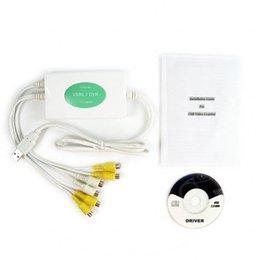 Powerhouse USB DVR- 4 Channel Video + 2 Channel Audio - Simple Setup