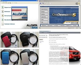 Wholesale Promotion Auto software Alldata and Mitchell Car Repair Software with Manual all data and1000GB hard disk