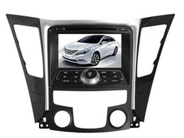 Wholesale 8 inch Special Car DVD Player For Hyundai Sonata i45 i50 YF with GPS IPOD Bluetooth Steering Wheel control PIP dual zone