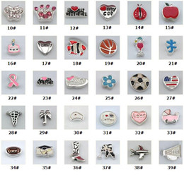 Newest floatings charms fashion memory lockets floating lockets assorted charms living locket charms jewelry fittings wholesale- 0003KLF