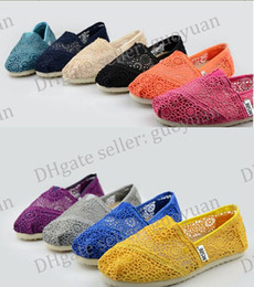 2015 dorp SHIPPING Hot women's Classic comfortable Hollow out hook flower ,Sunflower Crochet Lovers shoe Flat casual canvas shoes.Y6363