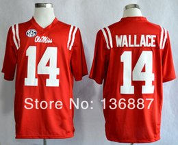 Wholesale Factory Outlet New Style Ole Miss Rebels Bo Wallace Sportest Cheapest College Football Jerseys Can Mix Order Jersey