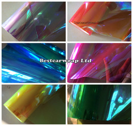 12 Roll   lot Chameleon Headlight Film Tint Taillight   Motorbike Headlight Rear Lamp Tint Tinting Film Size 0.3x10m  Roll