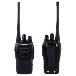 Wholesale Hot Sale Handheld Radio Retevis H777 Walkie Talkie UHF MHz W CH VOX Flashlight Portable Two Way Radio A9104A