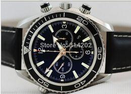 Luxury High Quality Brand New Professional Quartz Chrono Movement Watch Sport Wrist Watches Black Men's WATCH