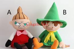 Wholesale 2015 New Hot Sale Set Japanese anime Moomin Valley Snufkin Little My Cute style Mini Plush doll