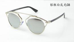 Wholesale El envío libre nuevos anteojos D de marca hombres gafas de sol de la vendimia del ojo de gato mujeres salomon oculos Gafas de lunetos de lentes de suelo