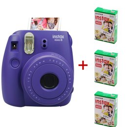 Wholesale Film Camera Instax Mini Instant Film Photo Polaroid Camera Instant Camera Using Instax Mini Film Packs sheets Plain Edge Instant