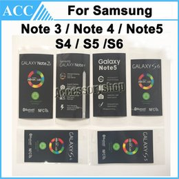 Wholesale Factory OEM Screen Protector Front Protective Film For Samsung Galaxy S4 S5 S6 Note Note Note