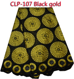 Free shipping 100% Cotton embroidery dry lace fabric ,african swiss lace fabric for party dress CLP-107