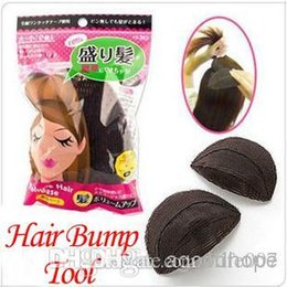 Wholesale Fashion Volume Hair Base Soft Velcro Bump Styling Insert Tool Princess Hair Styling Tools Base Hair Bump Up
