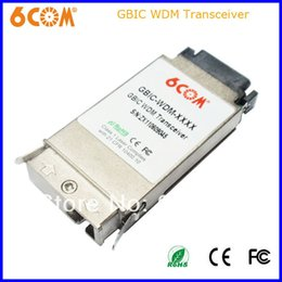 Wholesale COM GBIC Transceiver G nm km SC connector compatible with Asante item number is GBIC LZ